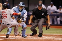Boston Red Sox vs Tampa Bay Rays /ISIFA.com|
